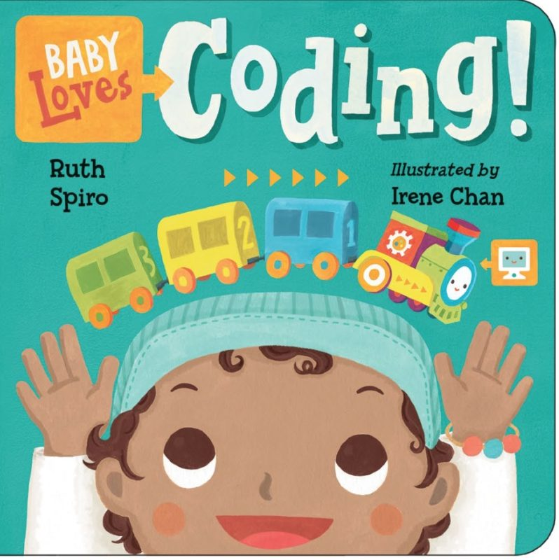 Baby Loves Coding Cover