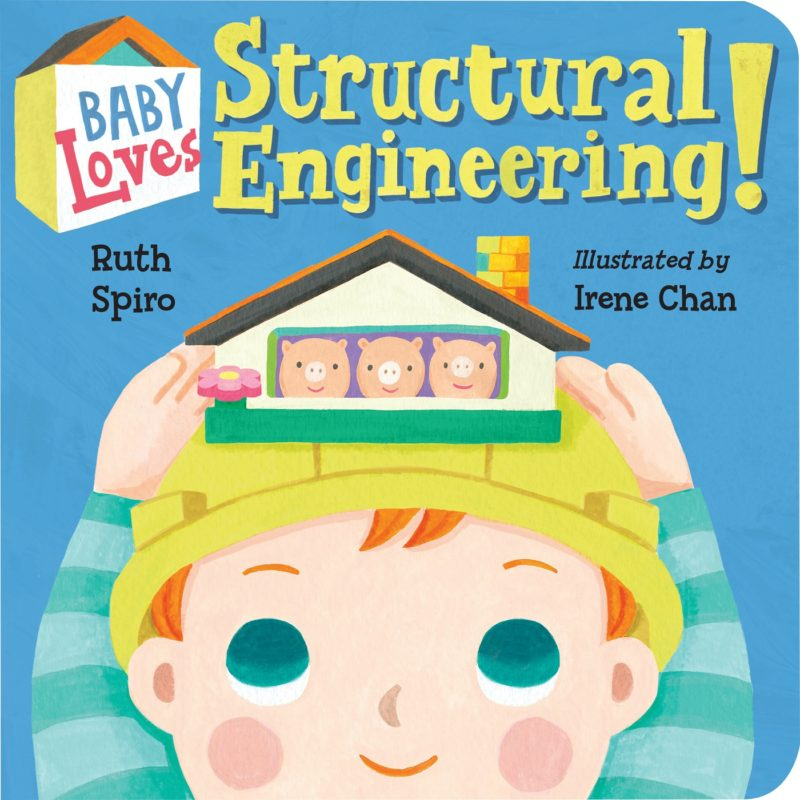 Baby Loves Structural Engineering Cover